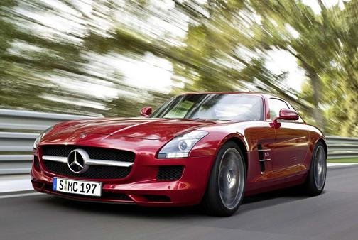 Новый Mercedes-Benz SLS AMG Red Series