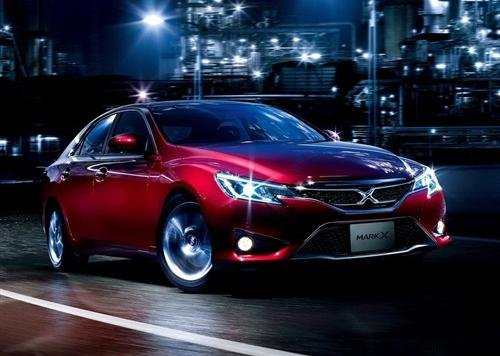 Новый Toyota Mark X